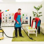 Разовая уборка помещений