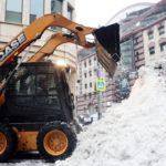Сбор и вывоз снега