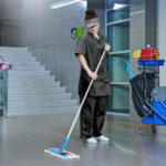 Комплексная уборка в офисе